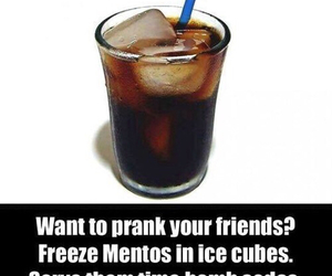 prank, mentos, and funny image