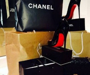 chanel, shoes, and louboutin image