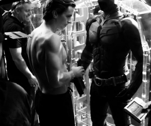 abs, sexy, and the dark knight image