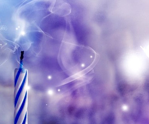 candle, birthday, and wish image