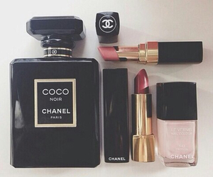 chanel, lipstick, and makeup image