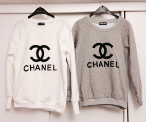 chanel, sweater, and winter image