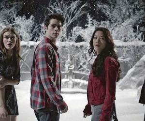 teen wolf, lydia martin, and scott mccall image
