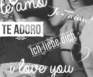 ask, I Love You, and je t'aime image