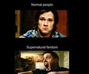 supernatural, fandom, and dean winchester image