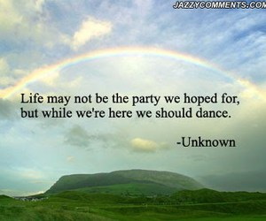 life, quote, and dance image