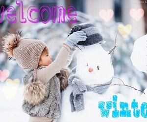 welcome and winter image