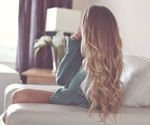 beautiful, curly hair, and hair image