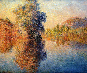 impressionism, nature, and art image