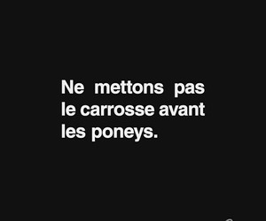 french, quotes, and carrosse image