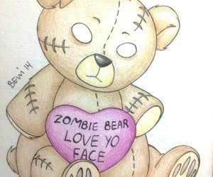 bear, draw, and gift image