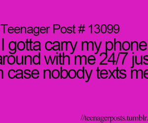 teenager post, phone, and post image