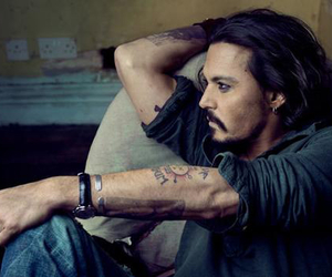 actor, johnny depp, and sexy image