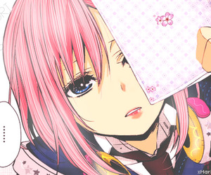 manga, citrus, and pink image
