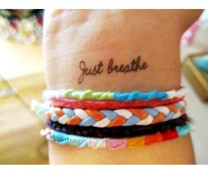 tattoo and just breathe image