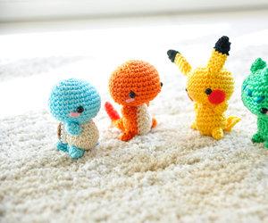 bulbasaur, pikachu, and charmander image
