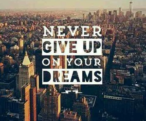 Dream, give, and never image