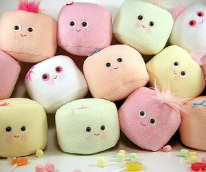 cute and marshmallow image
