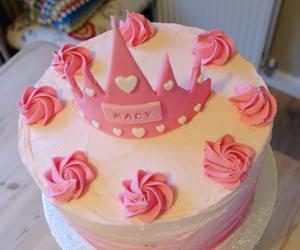 birthday, buttercream, and princess image