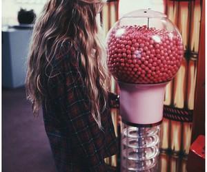 fashion, gum balls, and flannel image