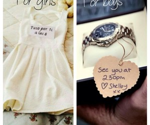 boyfriend, gift, and gifts image