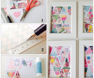 diy, geometric, and pattern image