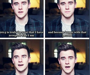 connor franta, proud, and coming out image