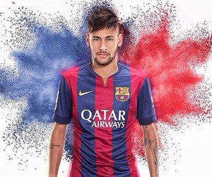 neymar, Barcelona, and neymar jr image