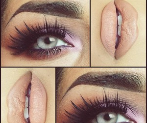 beauty, maquillage, and olhos image