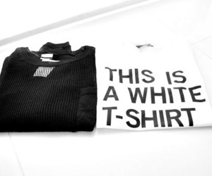 fashion, shirt, and white image