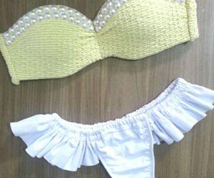 swinwear, bathing suit, and bikini image