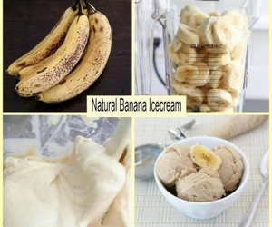 banana, diy, and icecream image