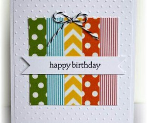bday, card, and crafts image