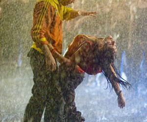dance, rain, and step up image