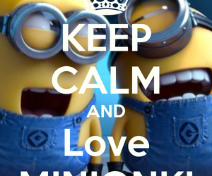 minions and keepcalm.yeap image