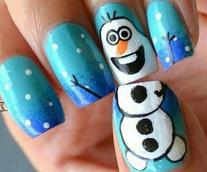 nails and olaf image