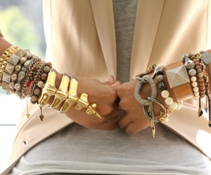 accessories, photo, and bracelets image