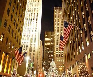 christmas, new york, and usa image
