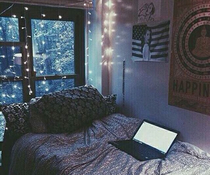 bedroom, decorations, and design image
