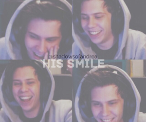 smile and rubius image