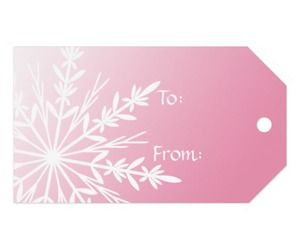 christmas, gift tags, and girl image