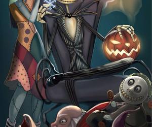 jack, sally, and Halloween image