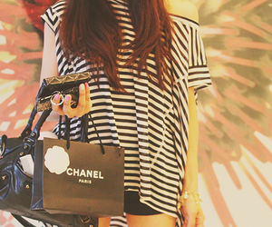 fashion, stripes, and girl image