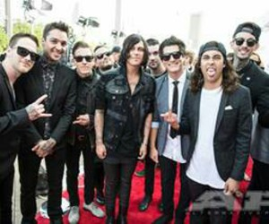 pierce the veil, sleeping with sirens, and sws image