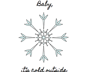 baby, christmas, and cold image