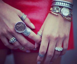 bracelets, diamond, and rings image