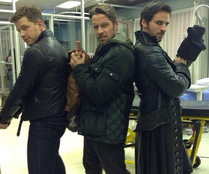 prince charming, robin hood, and once upon a time image