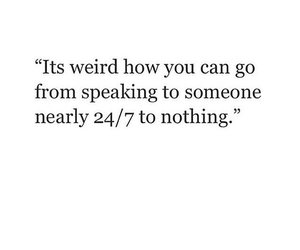 nothing, weird, and you image