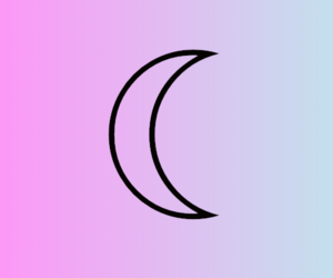 moon and pastel image