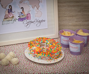cake, candy, and colour image